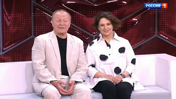 Борис Галкин с женой Инной Разумихиной