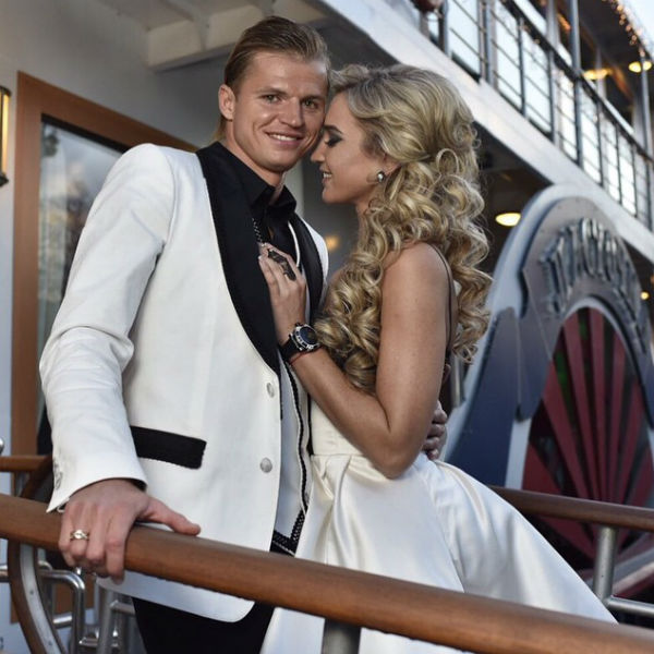 Телеведущая и футболист совсем скоро отметят три года со дня свадьбы