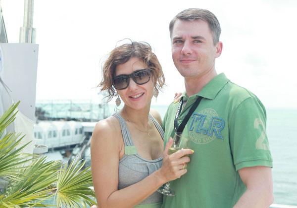 Екатерина с мужем Игорем Петренко