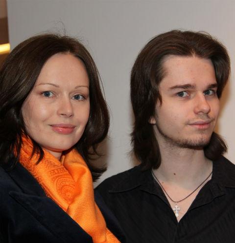 Ирина Безуркова и ее сын