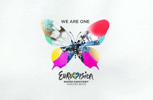 "Логотип и слоган конкурса ""Евровидение-2013"""