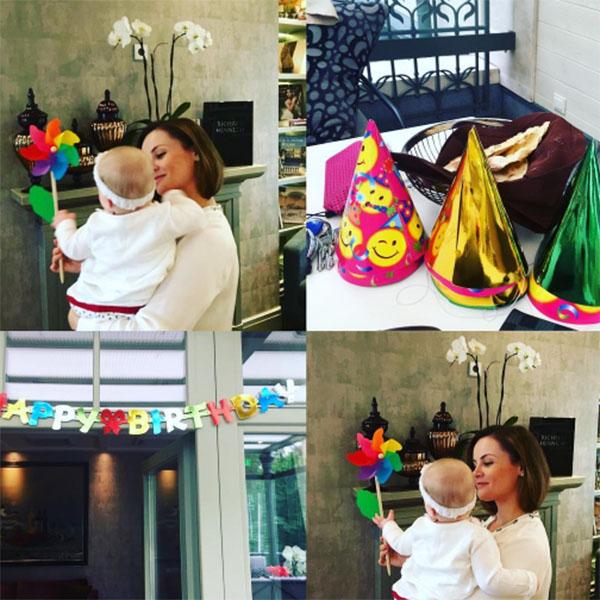 Восьмого июля дочери Проскуряковой и Николаева Веронике исполнилось девять месяцев