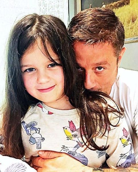 Алексей Макаров с дочерью Варей