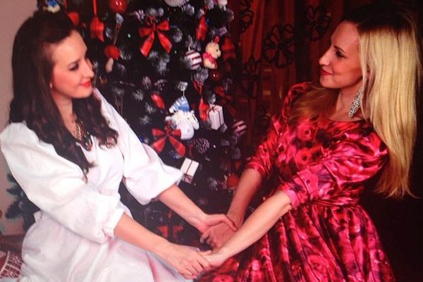 Сестры Магарита Агибалова и Ольга Гажиенко