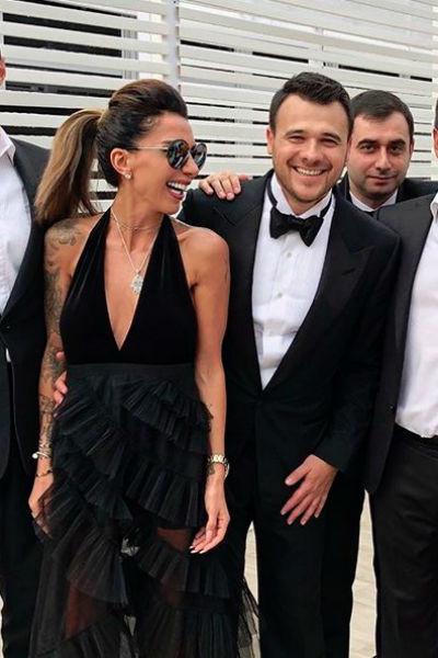 Сабина Агаларова на свадьбе у брата