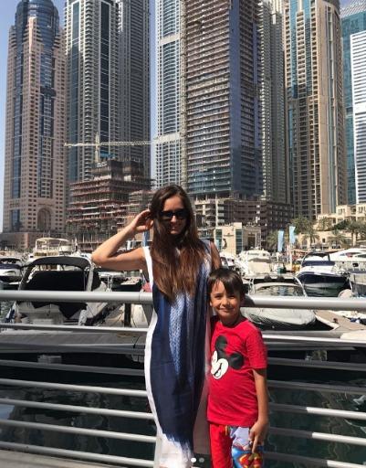 Агибалова восхищена Дубаем