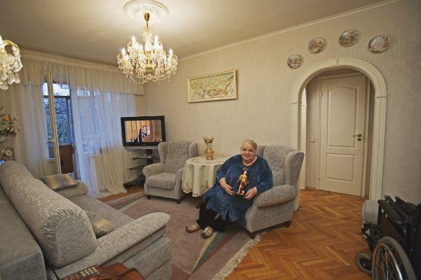 Родные не стали менять ничего в доме актрисы после ее смерти