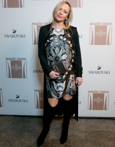 Мария Бутырская на премии журнала Marie Claire