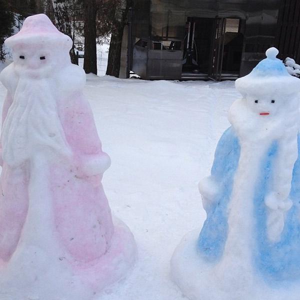 Те самые Дедушка Мороз и Снегурочка