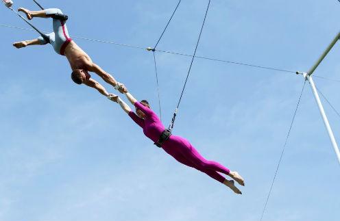Школа воздушной гимнастики «Трапеция Yota»