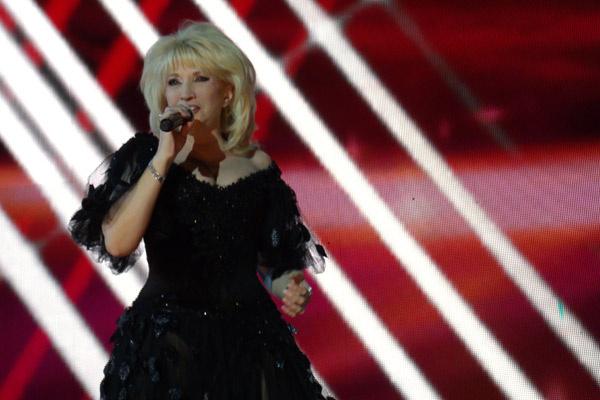 Ирина Аллегрова на концерте в честь Дня России