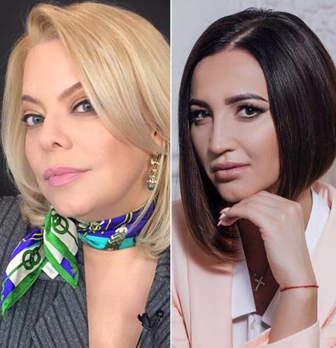 Яна Поплавская и Ольга Бузова