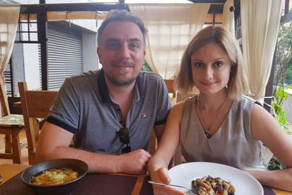 Карина с мужем Иваном