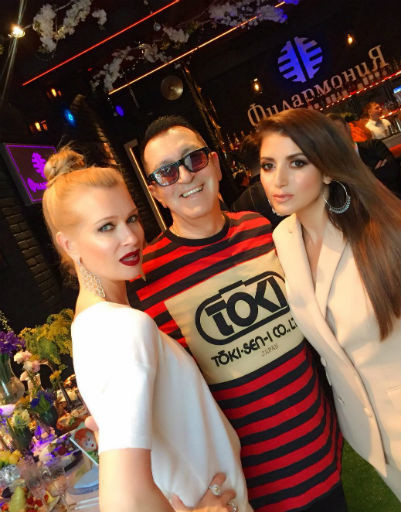 Олеся Судзиловская, Александр Буйнов и певица Жасмин