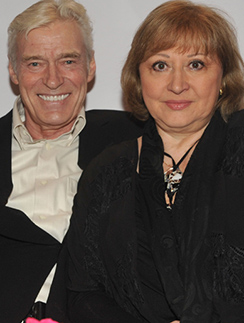 Борис Щербаков и Татьяна Бронзова