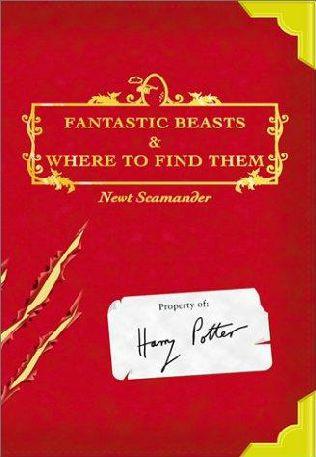 "Обложка книги ""Фантастические звери и места их обитания"""