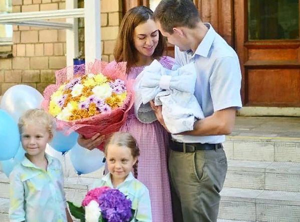 Теперь у Марии и Михаила большая дружная семья
