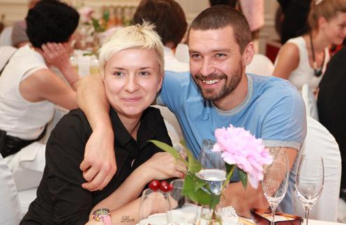 Владимир Кристовский с бывшей женой Валерией
