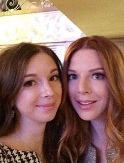 Наталья Подольская и ее сестра Юлиана