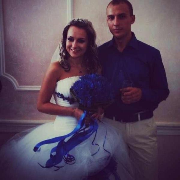 Евгения была прекрасна в день своей свадьбы