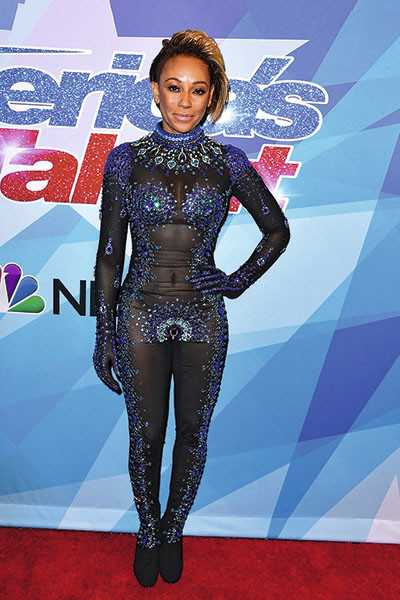 Певица на премьере шоу America's Got Talent