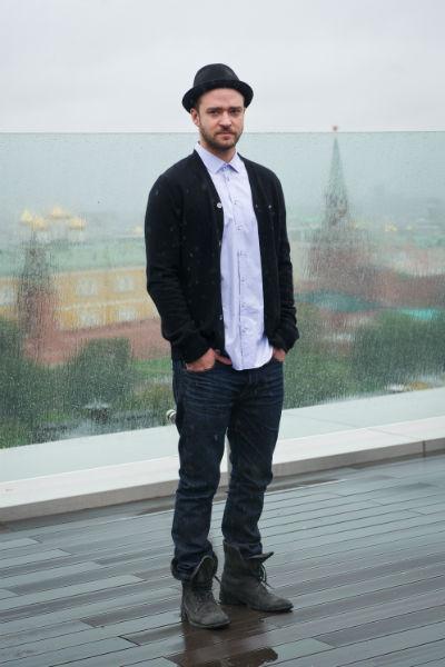 Тимберлейк привез в Москву свой новый актерский проект - криминальную драму «Vа-Банк»