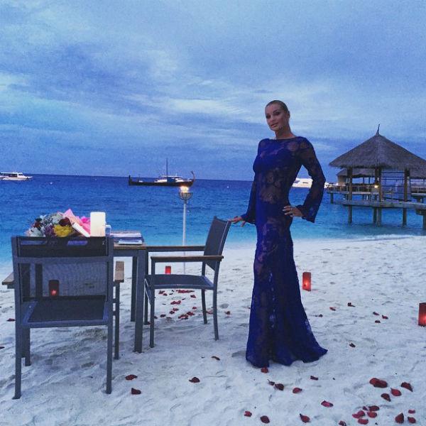 Балерина призналась, что в недавнем отпуске на Мальдивах с ней был тот самый мужчина, с которым в данный момент ее связывает роман