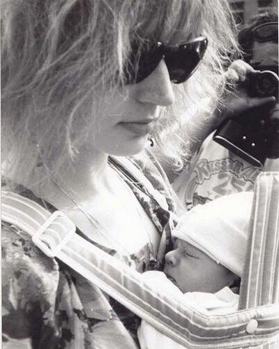 Архивная фотография Кристины Орбакайте с сыном