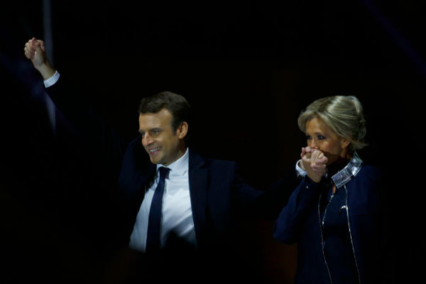 Победа на выборах сделала Бриджит первой леди Франции