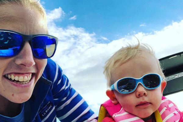 Поклонники уверены, что сын лыжницы тоже вырастет спортсменом
