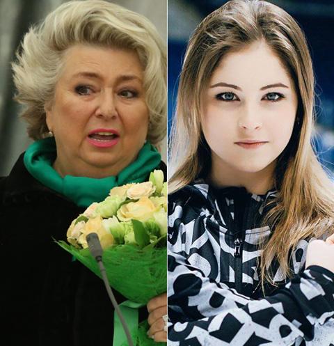 Татьяна Тарасова и Юлия Липницкая