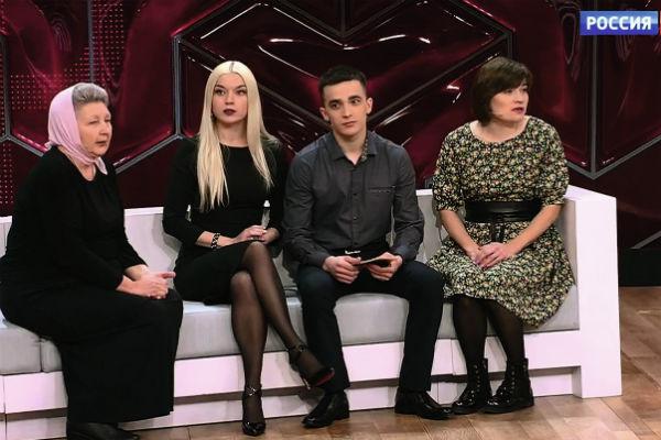 Поддержать Сергея Семенова  приехали не только мама и сестра, но и Евгения Ватейчкина – основатель детского православного приюта  «Дом милосердия»
