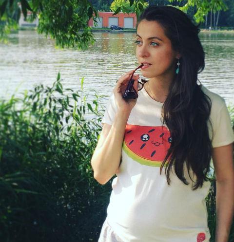 Анастасия Меськова стала мамой во вторник рано утром