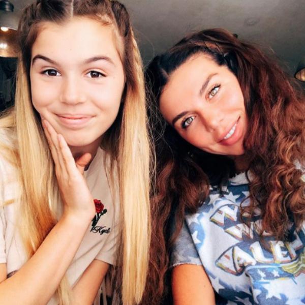 Анна Седокова с дочерью Алиной