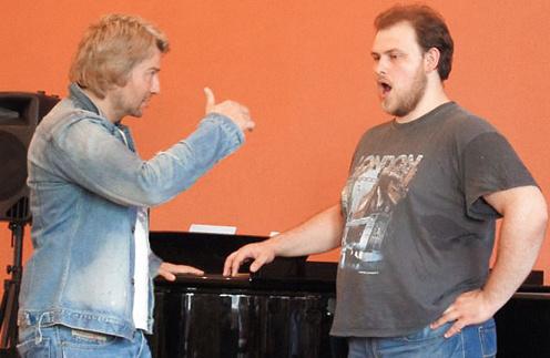 Стоило студенту ошибиться, Басков сразу останавливал его