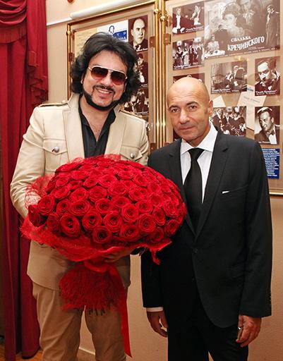 Филипп Киркоров и Игорь Крутой