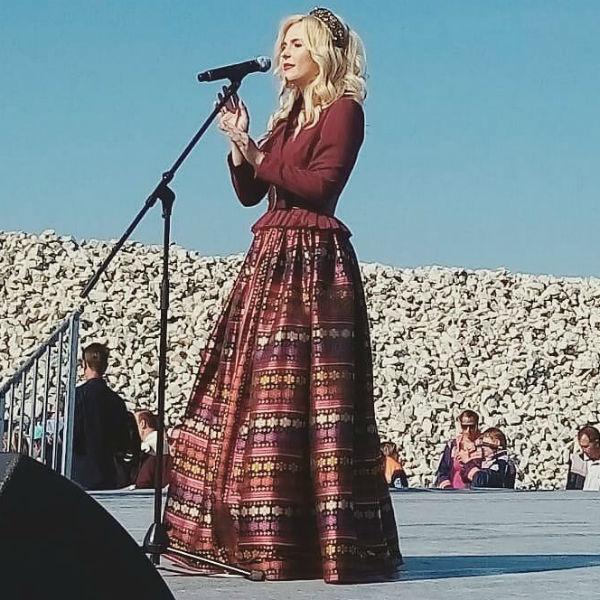 Пелагея выступала на концерте в Крыму