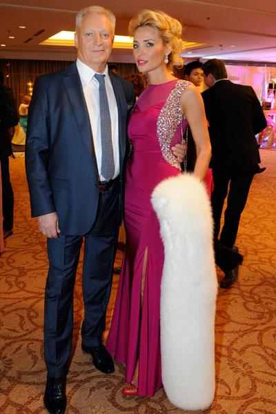 Евгений Болдин с женой