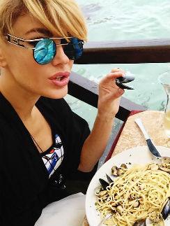 Таня Терешина предпочитает пасту
