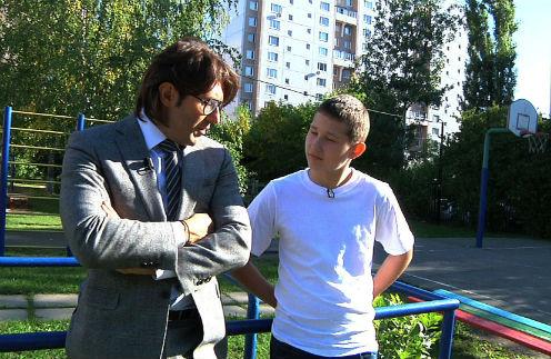 Николай Ерохин сам попросил меня об интервью