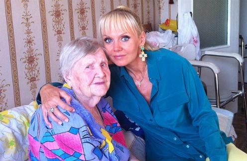 Валерия с бабушкой Валентиной Дмитриевной