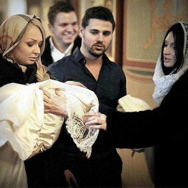 Полтора года назад Дарья Пынзарь стала крестной маленькому Даниэлю