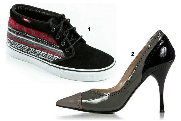 Кеды Vans и туфли TJ Collection
