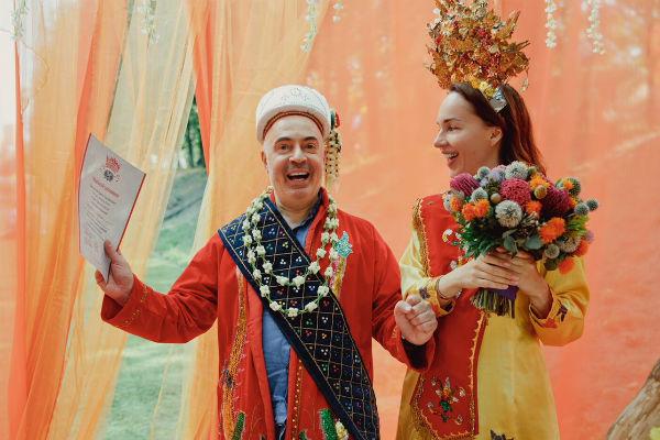 Супруги были невероятно рады своей неожиданной свадьбе