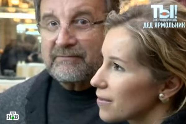 Леонид Ярмольник и его дочь Александра