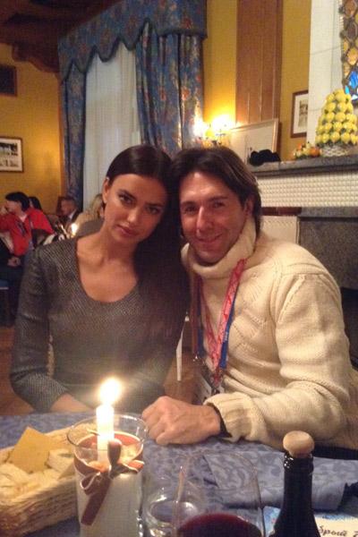 Ирина Шейк вдохновляет не только меня, но и российских олимпийцев