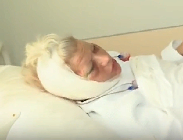 Екатерина Терешкович после операции