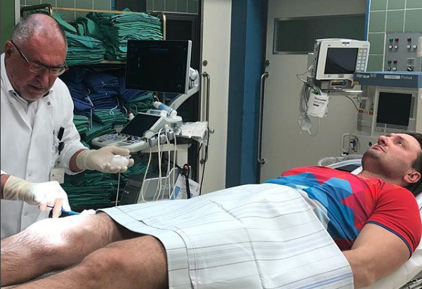 Эдгарда Запашного госпитализировали в Германии