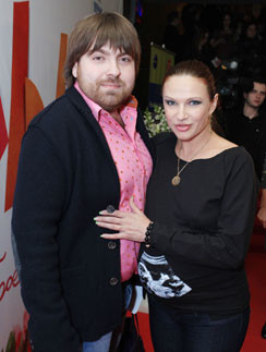 Эвелина Бледанс с мужем
