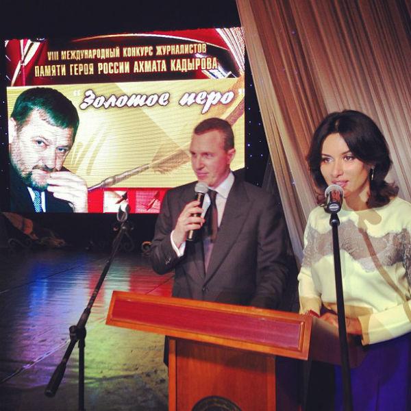 Игорь Верник и Тина Канделаки на церемонии